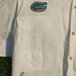 Columbia PFG gator embroidered shirt
